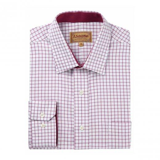 schoffel-cambridge-shirt-red